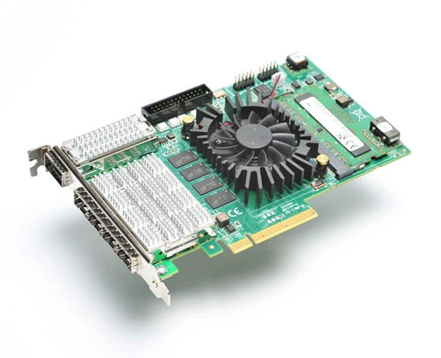 Komodo – Fiber FPGA board