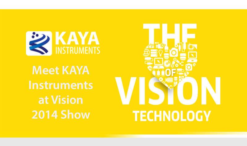 Meet KAYA Instruments at Vision 2014 Show