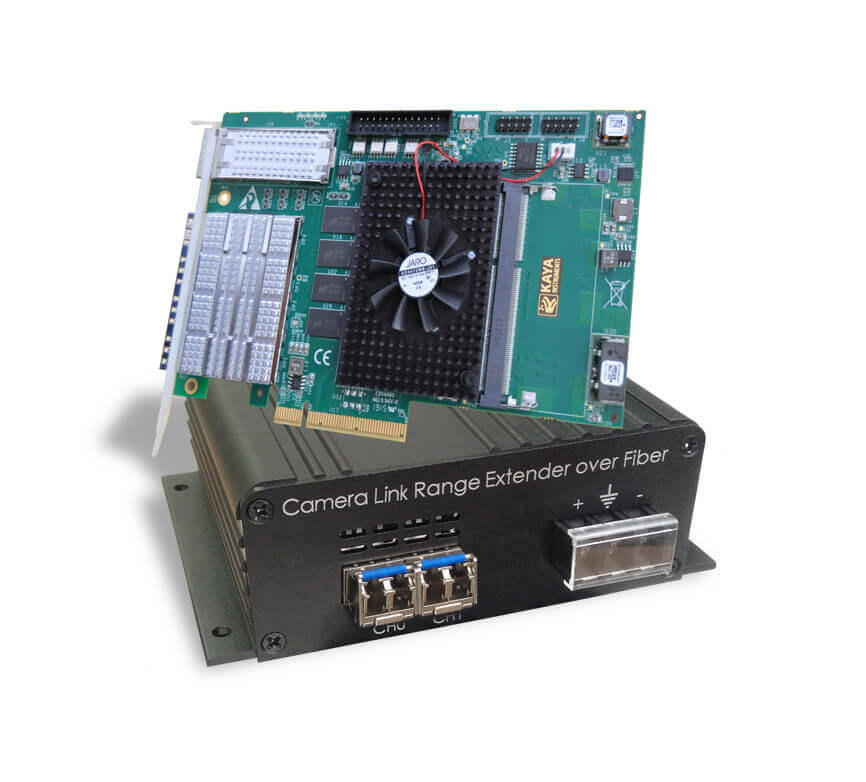 Komodo FXCL - CameraLink™ over Fiber acquisition system
